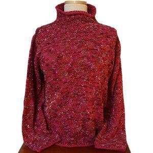 Loose-knit Variegated Sweater Susan Bristol 2005